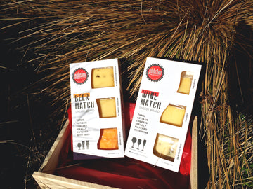 Double cheese, Wine and Beer matching gift box