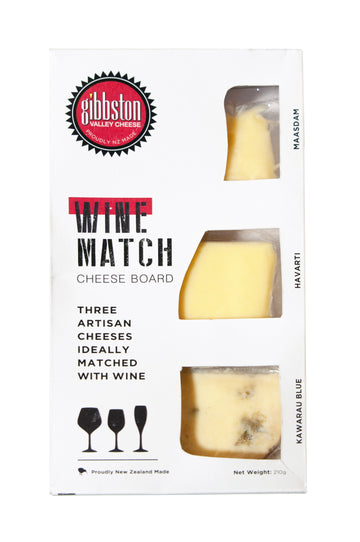 Wine Match Cheeseboard Selection
