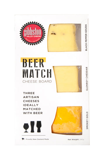 Beer Match Cheeseboard Selection