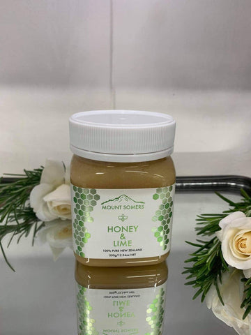 Mount Somers Lime Honey