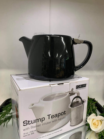 Stump Teapot