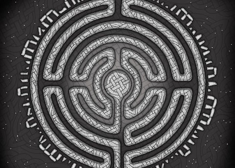 Labyrinth Mandala