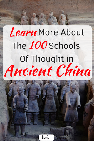 The 100 Schools of Thought in Ancient China