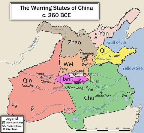 Warring States Period Ancient Chinese Philosophy