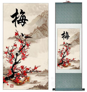 Traditional Chinese Banner Painting