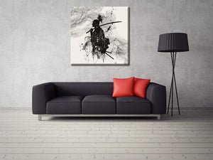 Japanese Samurai Painting