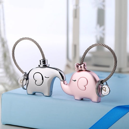 Elephant Lovers Keychain