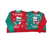 Couples Pullovers - Nice & Naughty Ugly Christmas Sweater
