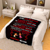 """To My Girlfriend Life's Best Views""- Personalized Blanket"