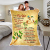I Love You Forever & Always custom Blanket for wife
