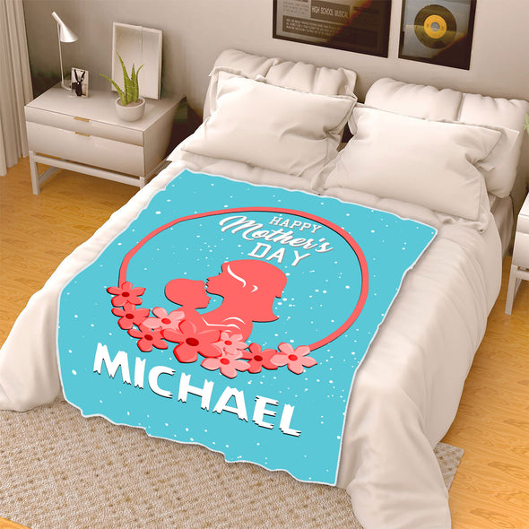 """Happy Mother's Day ""- Personalized Blanket"
