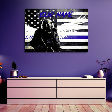 Riot Cop Wall Decor