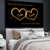 Personalized Canvas For The Closet One To Your Heart