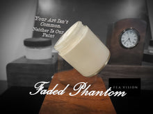 Advertisment for faded off white paint, Faded Phantom.