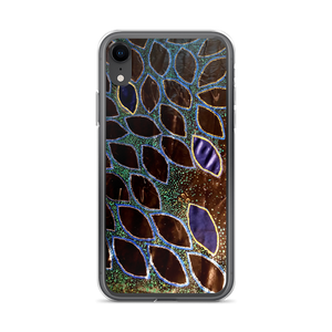 This phone's protective exoskeleton is actually a cover-case decorated to display a painting that is metallic and irredescent in person, but isn't as a phone case. Now it is just remarkably georgous as a phone case. 100% profit from this product is donated to Power To Puerto Rico.