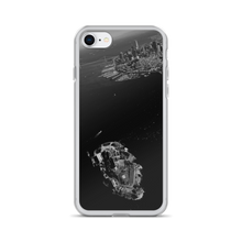 "Featured on this phone cover is photographer Victor Allen's ""Always in the Skys of San Francisco"". Seen in the black and white scene is the skyline of the city and a bird's eye view of Alcatraz, the island infamous for incarceration."