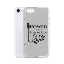 Power To Puerto Rico Logo on iPhone 8