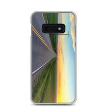 "The Samsung 10e SafteyCase shows ""Some Summer Sunset"" highlights the high plains of eastern Colorado."