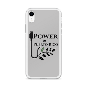 Power To Puerto Rico Logo on iPhone XR SafetyCase