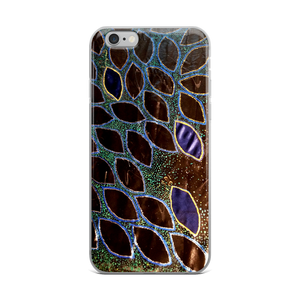 "This is an image of Victor Allen's ""Boats of Bio Bay"" which fits onto a phone case- particularly iphones generations 6 and up.the artwork is so stunning. Wow."
