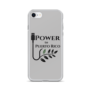 Power To Puerto Rico Logo on iPhone 7 plus