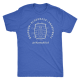 Bourbon Bluegrass Basketball Barrel Love Kentucky Get Kentuckified Premium Shirt - getkentuckified