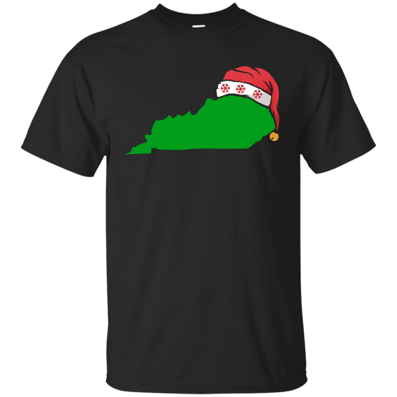 Kentucky Christmas Shirt Cute Christmas Gift Green US State