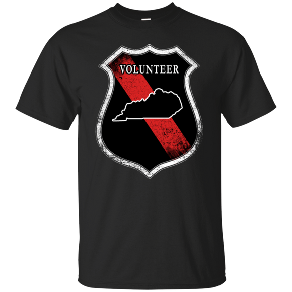 Volunteer Firefighter Kentucky Shirt Volunteer Firefighter Gifts