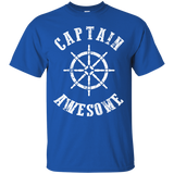 Captain Awesome Boat Shirt Love Boating Sailing Boat Shirt Boat Captain Boating Gifts (1) - getkentuckified