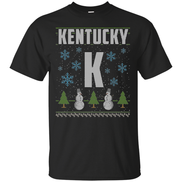 Funny Family Christmas Shirt Kentucky Holiday Party Shirt - getkentuckified
