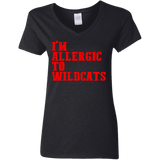 Allergic to Wildcats Funny Louisville Shirt Hate Kentucky - getkentuckified