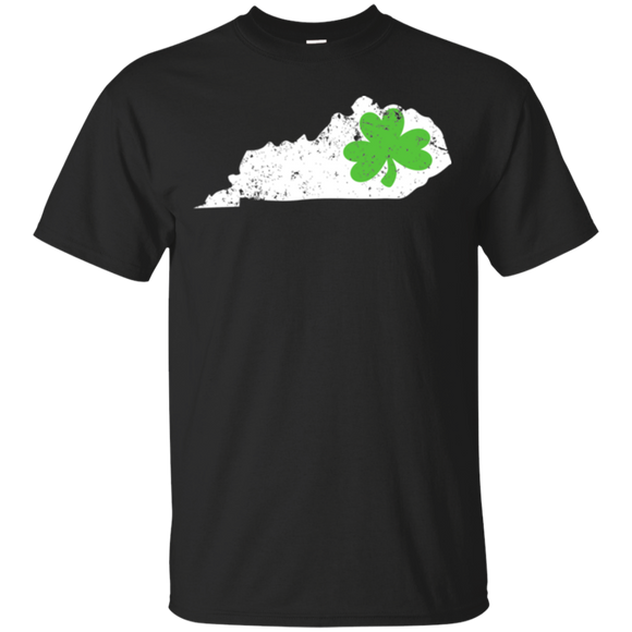 Shamrock T Shirt Kentucky Ireland St Pattys Day