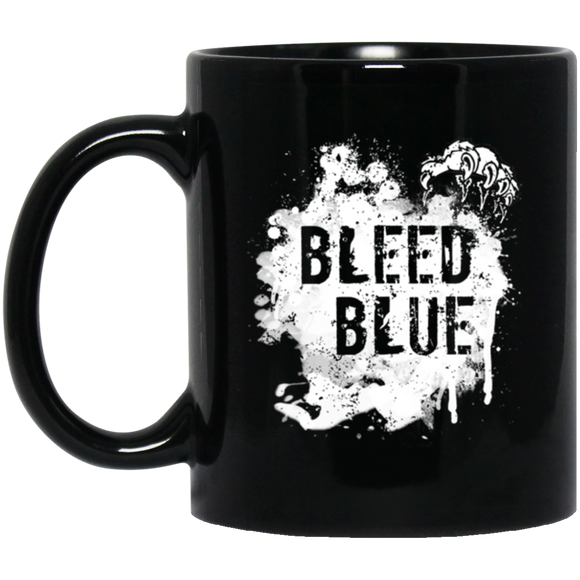 Bleed Blue Mug Love Kentucky Gift Cats - getkentuckified