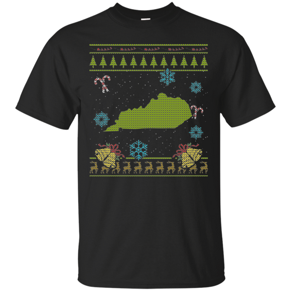 Kentucky Christmas Ugly Shirt - getkentuckified