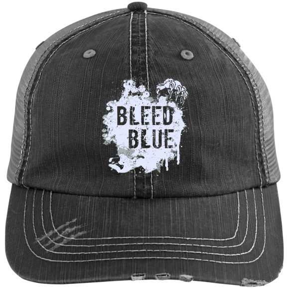 Bleed Blue State Of Kentucky Hat Bleed Blue Hat - getkentuckified