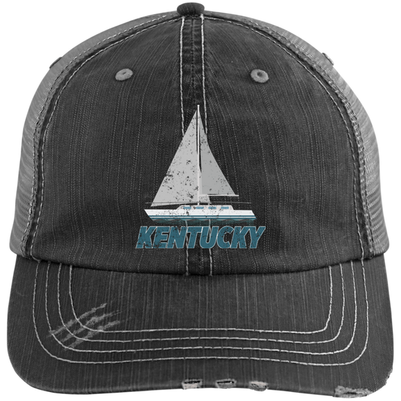 Boating Captain Hat Kentucky Boat Sailing Hat - getkentuckified