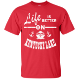Life Is Better Kentucky Lake Boat Gift