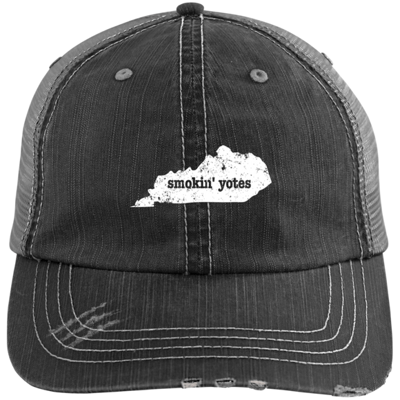 Coyote Trapping Hat Smokin Yotes Kentucky Hat Gift Coyote Animal - getkentuckified