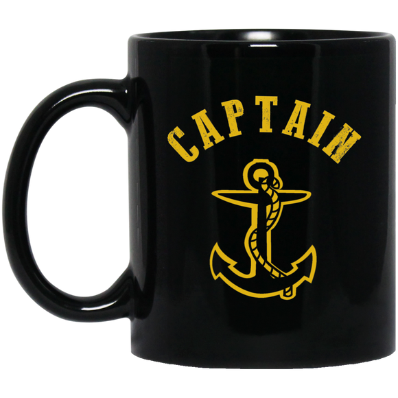 Boat Captain Mug Anchor Love Boating Sailing Mug - getkentuckified