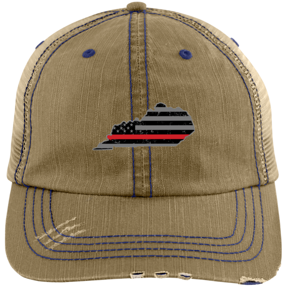 Kentucky Thin Red Line Hat Firefighter Hat