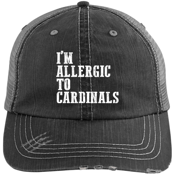 Allergic to Cardinals Funny Kentucky Hat Hate Louisville - getkentuckified