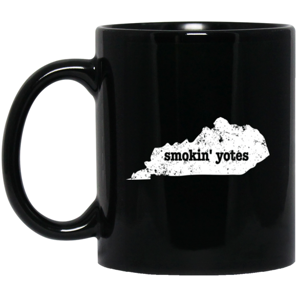 Coyote Trapping Mug Smokin Yotes Gift Kentucky Coyote Animal - getkentuckified