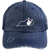 Bowling Pins Hat Kentucky Funny Kentucky Bowling Hat - getkentuckified