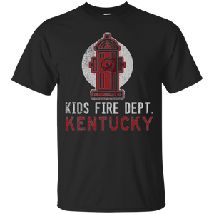 Cute Future Firefighter Kentucky Shirt Fireman Kids Shirt - getkentuckified