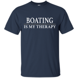 Boating Is My Therapy Shirt Boat Shirt Love Boating Sailing Shirt - getkentuckified