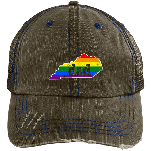 Kentucky Dad Hat Kentucky Gay Pride Flag Hat