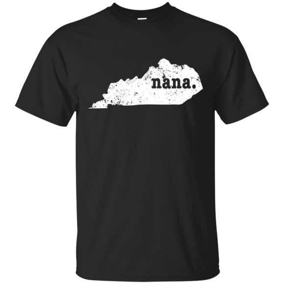 Best Nana Shirt Kentucky T Shirt Proud Nana T Shirt - getkentuckified