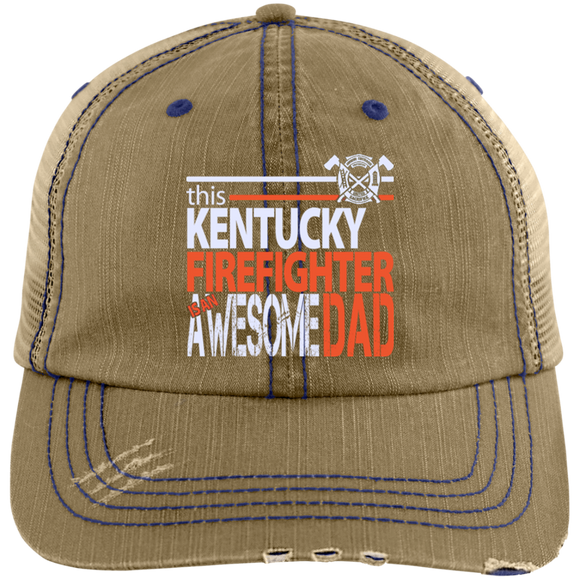 Retired Firefighter Dad Hat Firefighter Dad Gifts Kentucky