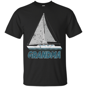 Grandma Sailing Shirt Cute Boat Shirt Sail Boating Gift - getkentuckified