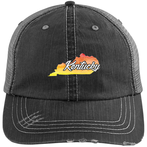 Watercolor Kentucky Home Hat State Of Kentucky Hat